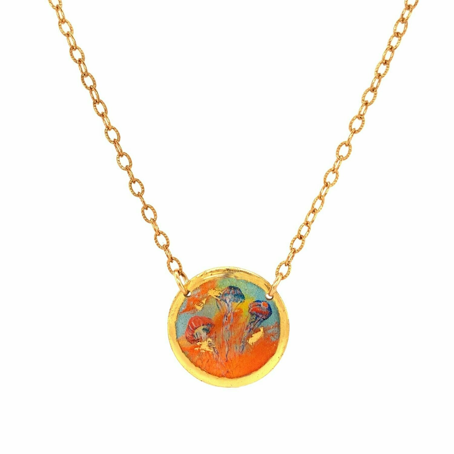 Hot Jellies Gold Mini Necklace