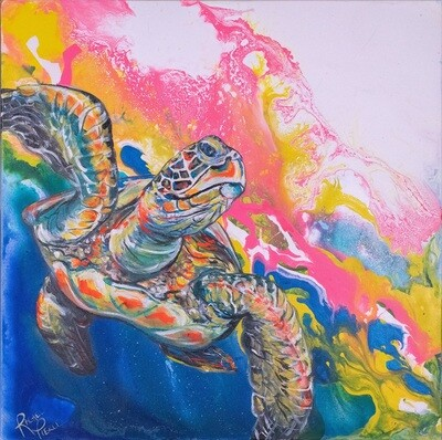 Electric Space Turtle 1