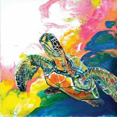 Electric Space Turtle 2