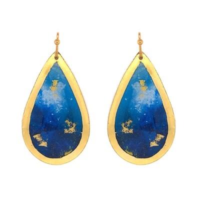 Marlin Abstract Teardrop Earrings