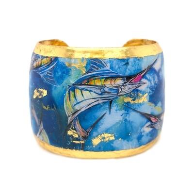Marlin Cuff in Yellow Gold