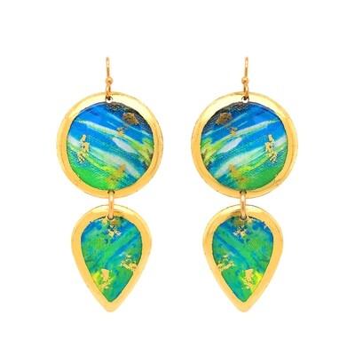 Mahi Mahi Abstract Gala Earrings