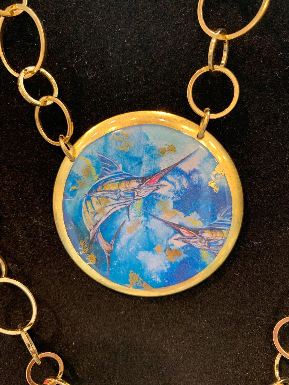 Marlin Necklace
