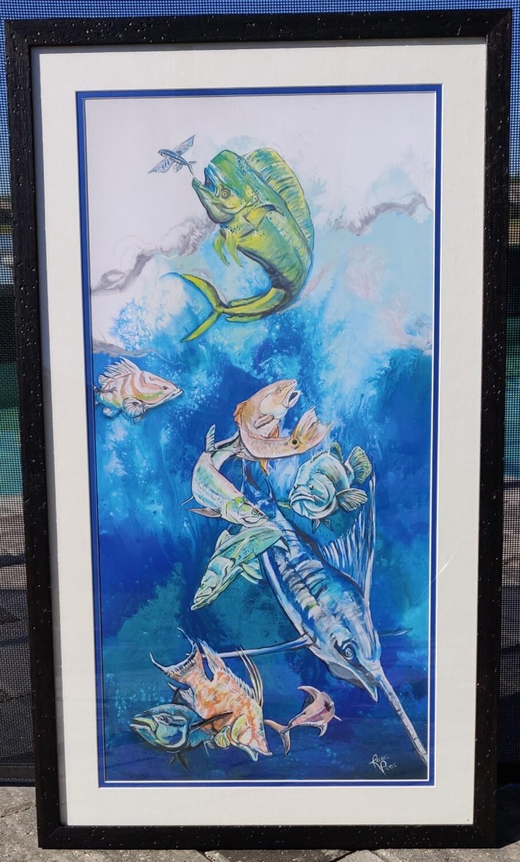 Fisherman's Dream Framed Print