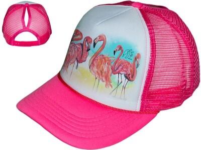 Flamingo Women's Trucker Hat
