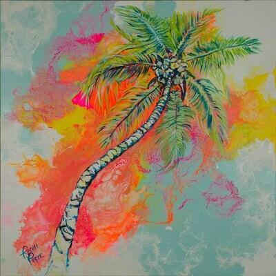 Technicolor Palm Tree