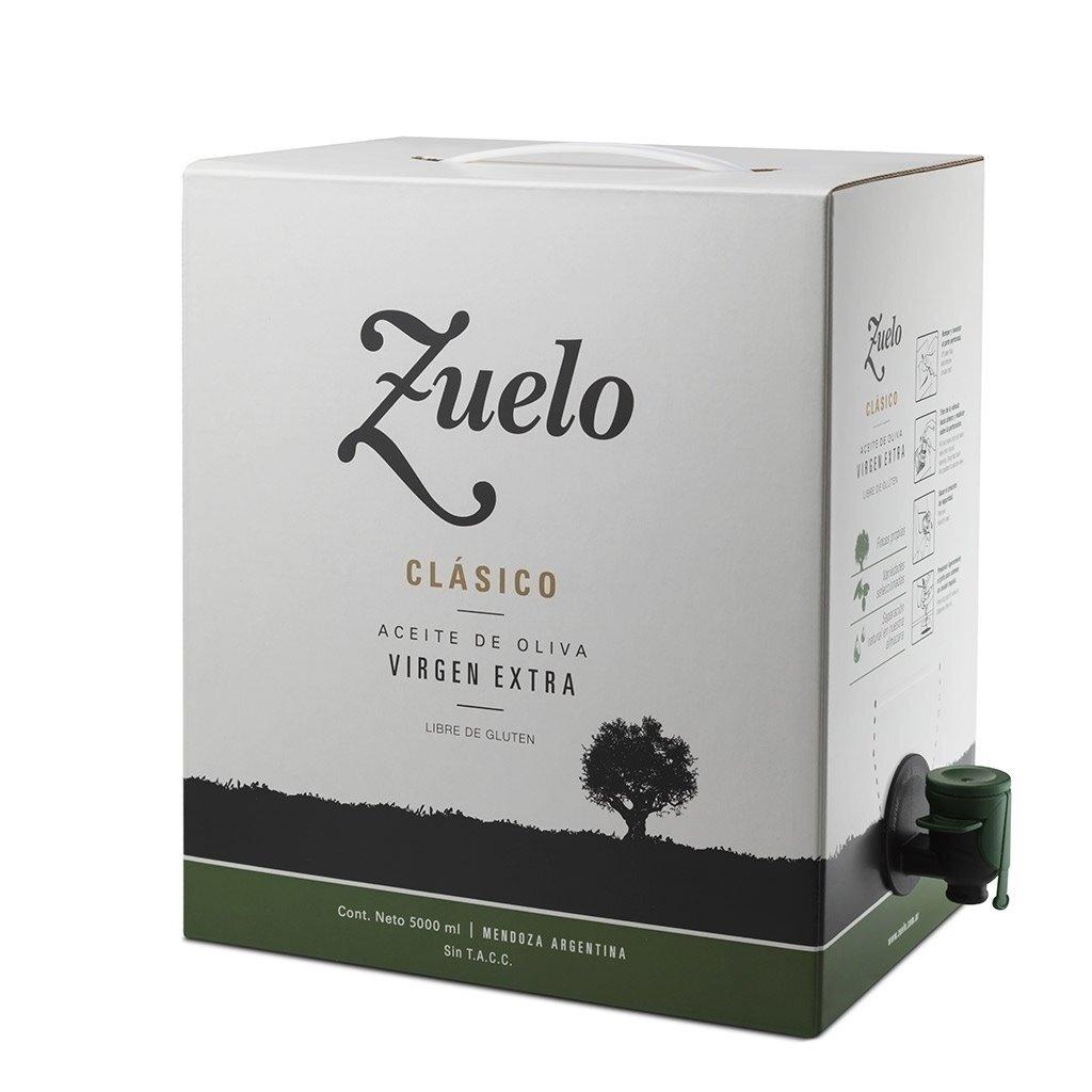 Aceite de oliva Zuelo Bag in Box Original x5000cc