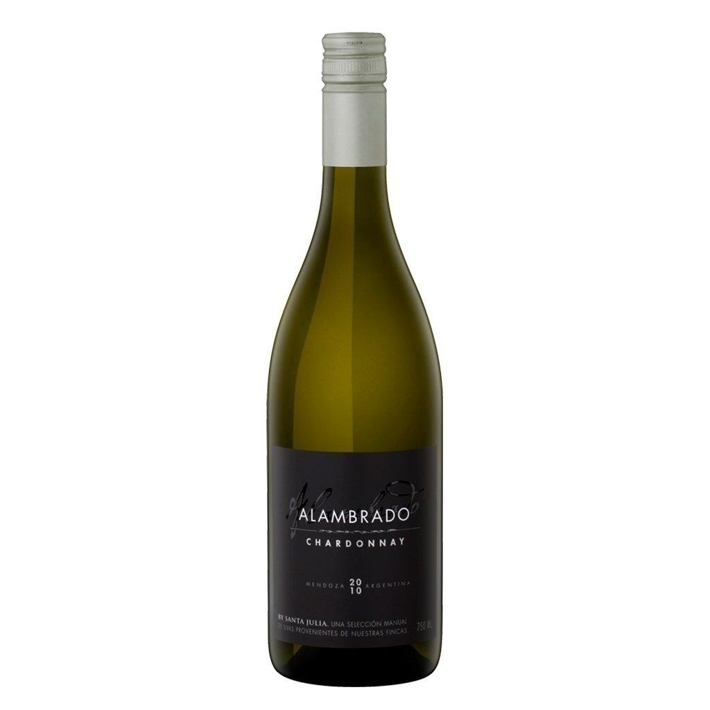 Vino Blanco Alambrado chardonnay x750cc