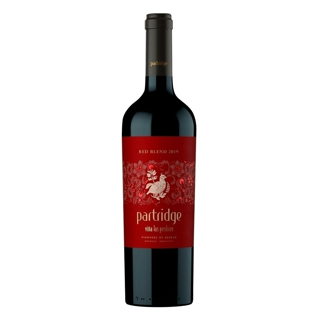 Vino Tinto Partridge red blend x750cc