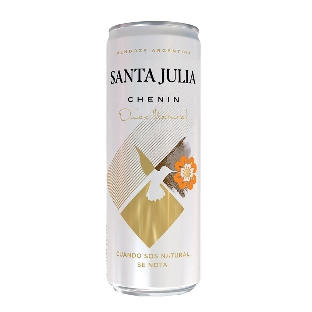 Vino Blanco Santa Julia Chenin Dulce Lata x355cc
