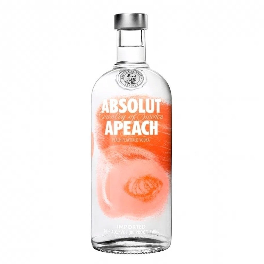 Vodka absolut apeach x750cc