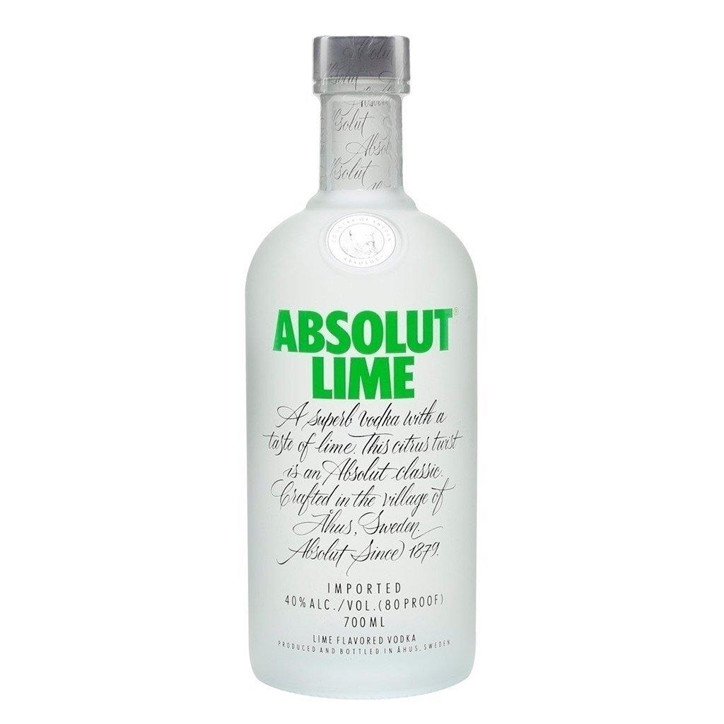 Vodka absolut lime x750cc