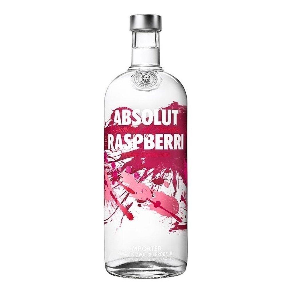 Vodka absolut raspberri x750cc