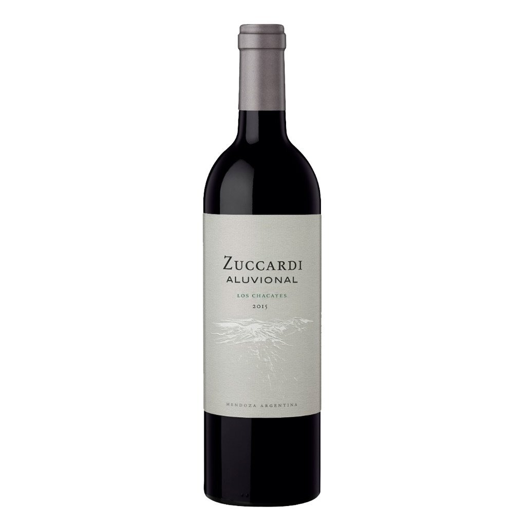 Vino Tinto Zuccardi aluvional los chacayes x750cc