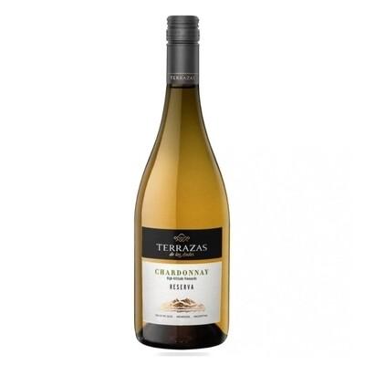 Vino Blanco Terrazas reserva chardonnay x750cc