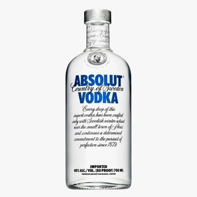Vodka absolut regular x750cc