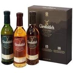 Whisky E. Glenfiddich 12y 15y 18y 3x200cc