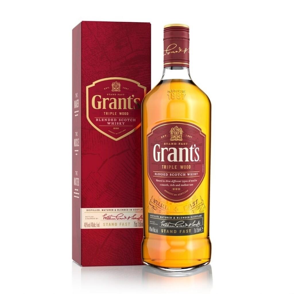 Whisky Grants triple wood x750cc