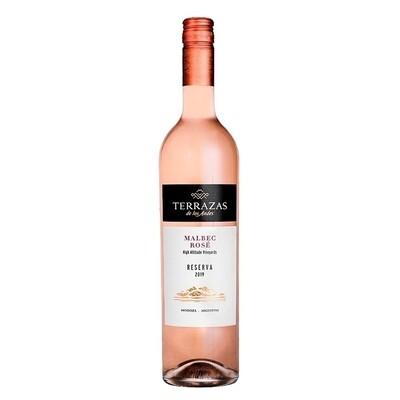 Vino Terrazas reserva malbec rose x750cc