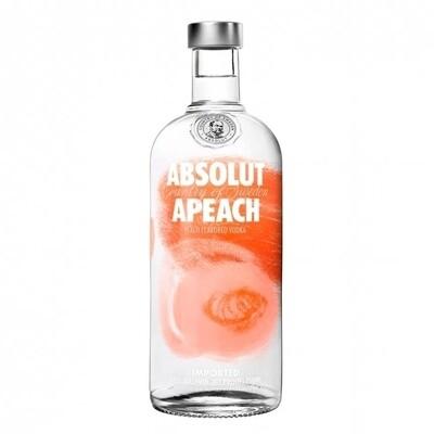 Vodka absolut apeach x750cc