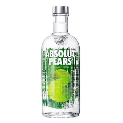 Vodka absolut pears x750cc