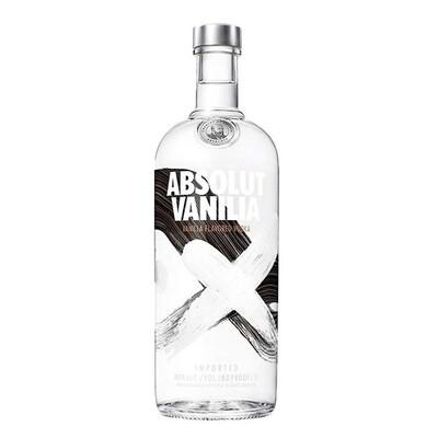 Vodka absolut vainilla x750cc