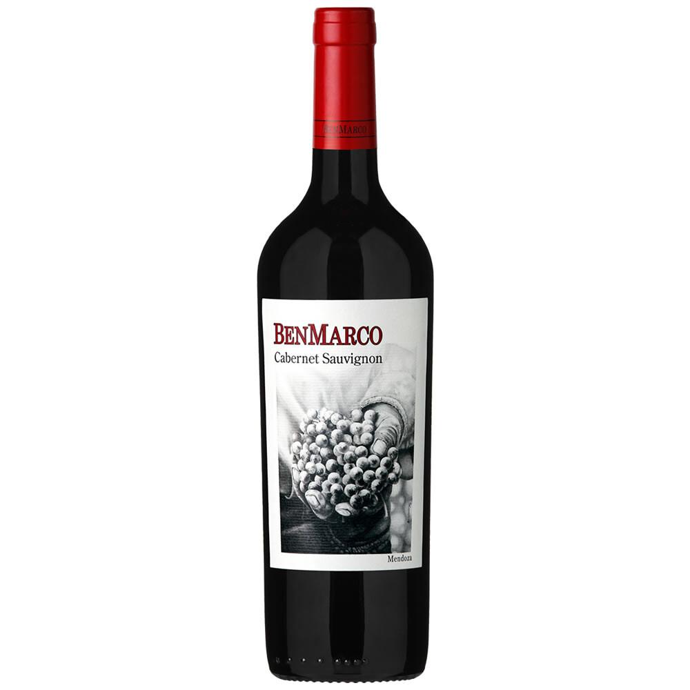 Vino Tinto Benmarco cabernet sauvignon x750cc