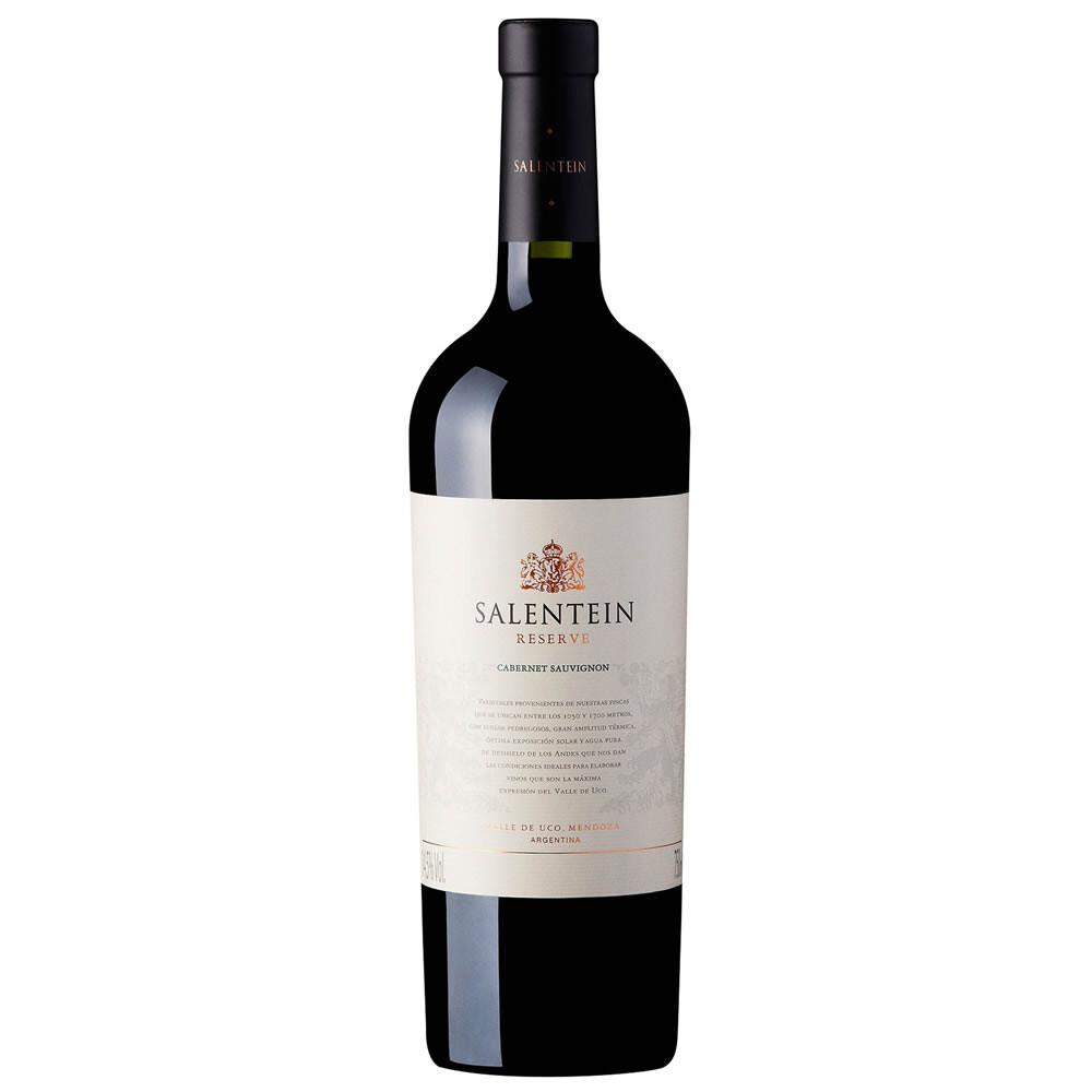 Vino Tinto Salentein reserva cabernet sauvignon x750cc