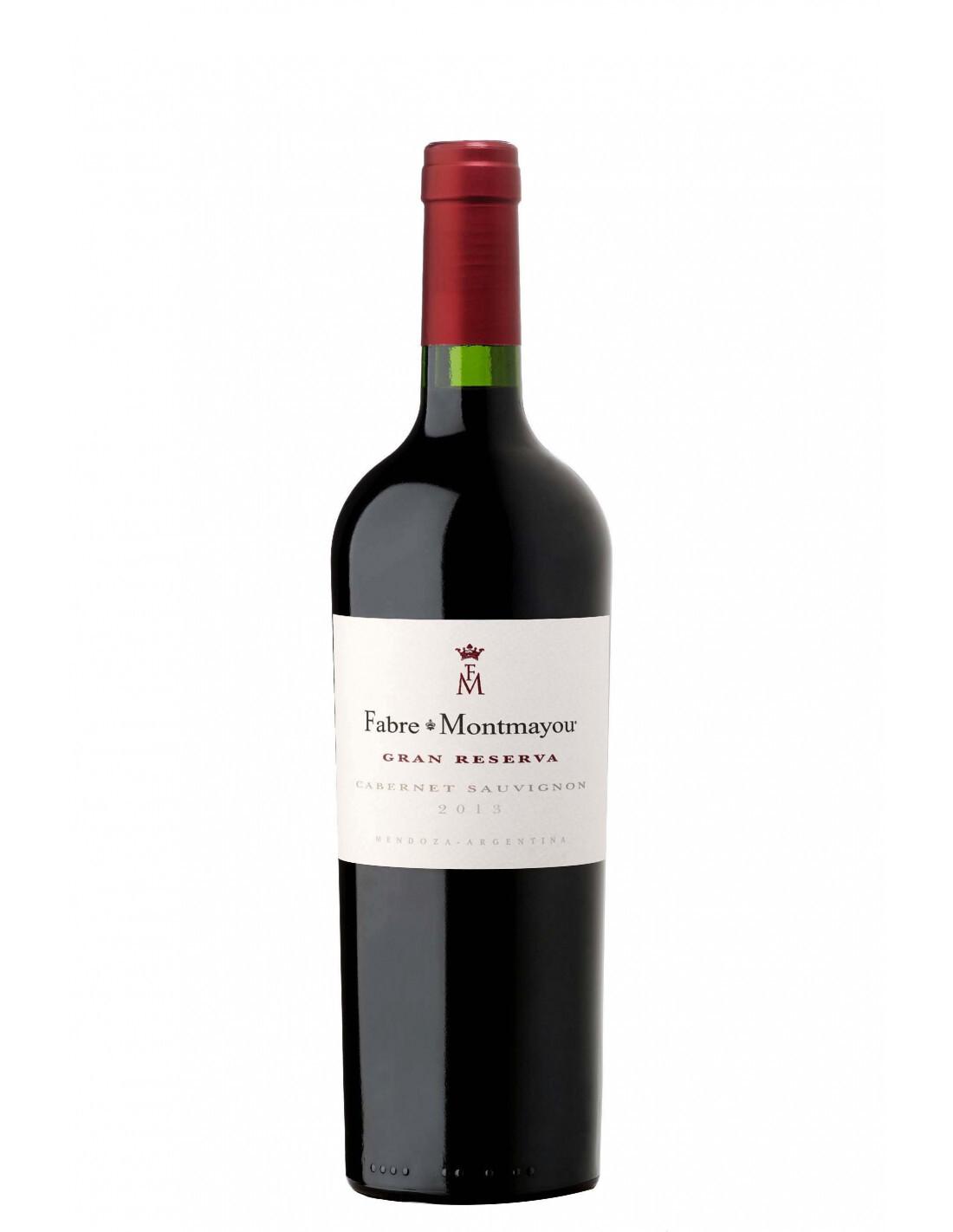Vino Tinto Fabre montmayou gran reserva cabernet x750cc