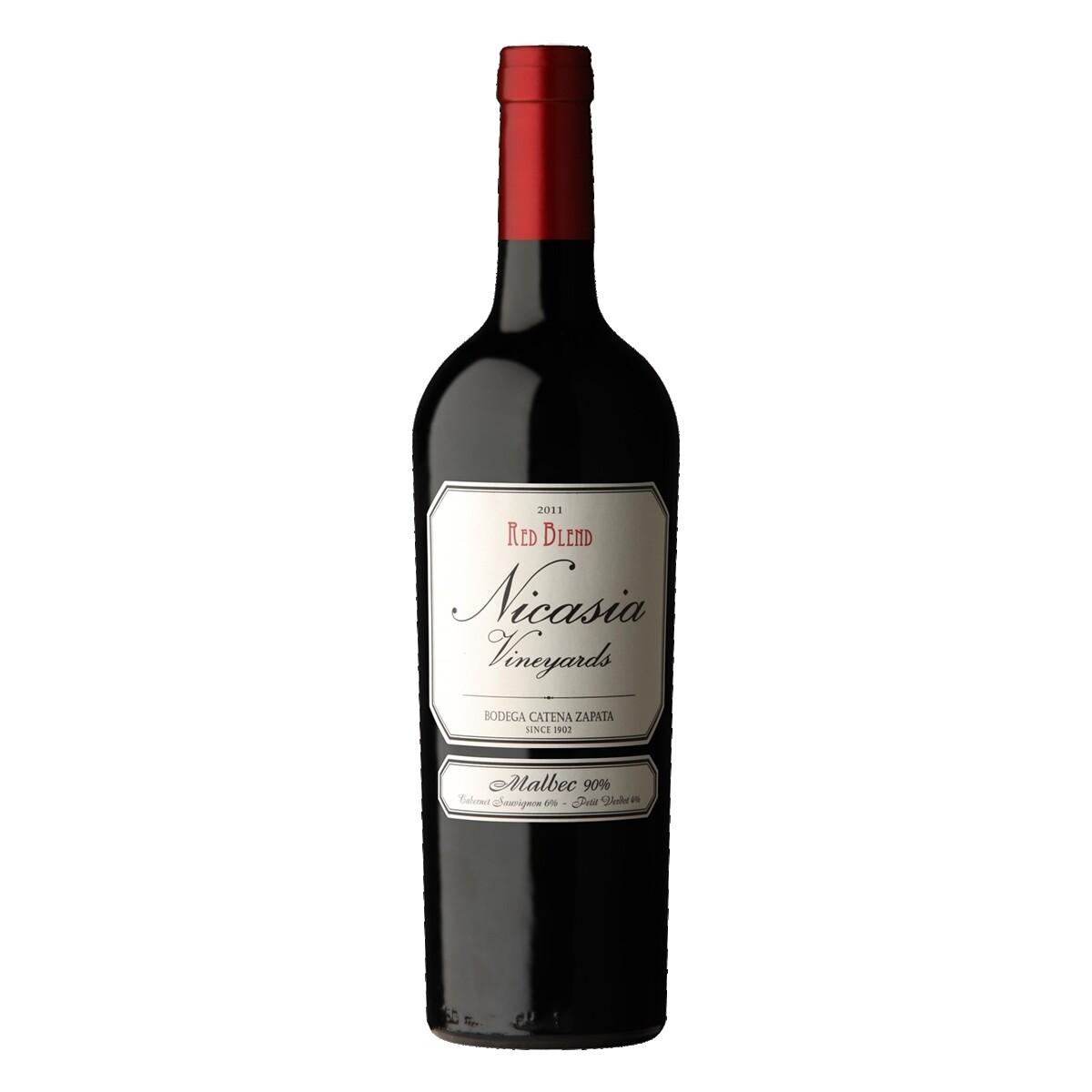 Vino Tinto Nicasia red blend malbec x750cc