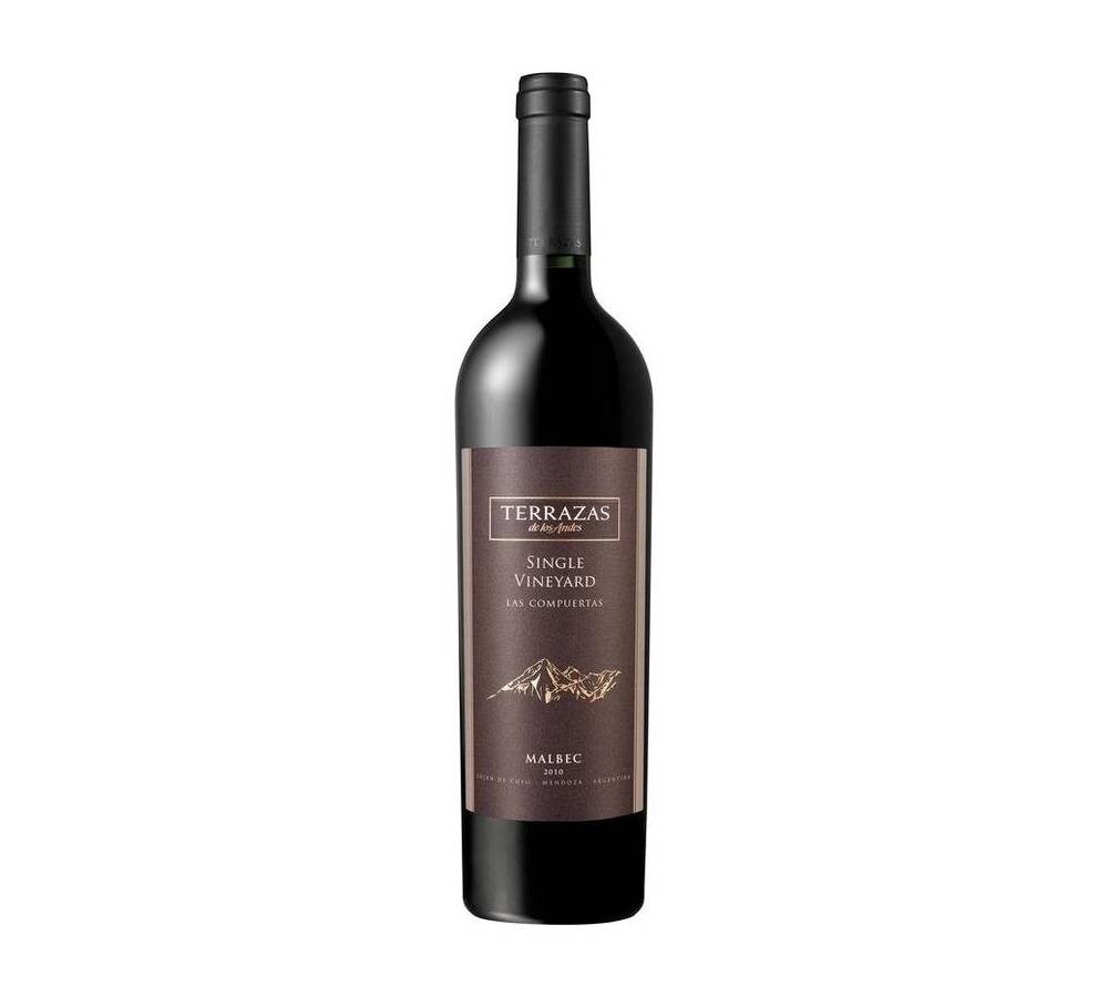Vino Tinto Terrazas single vineyeard malbec 15 x750cc