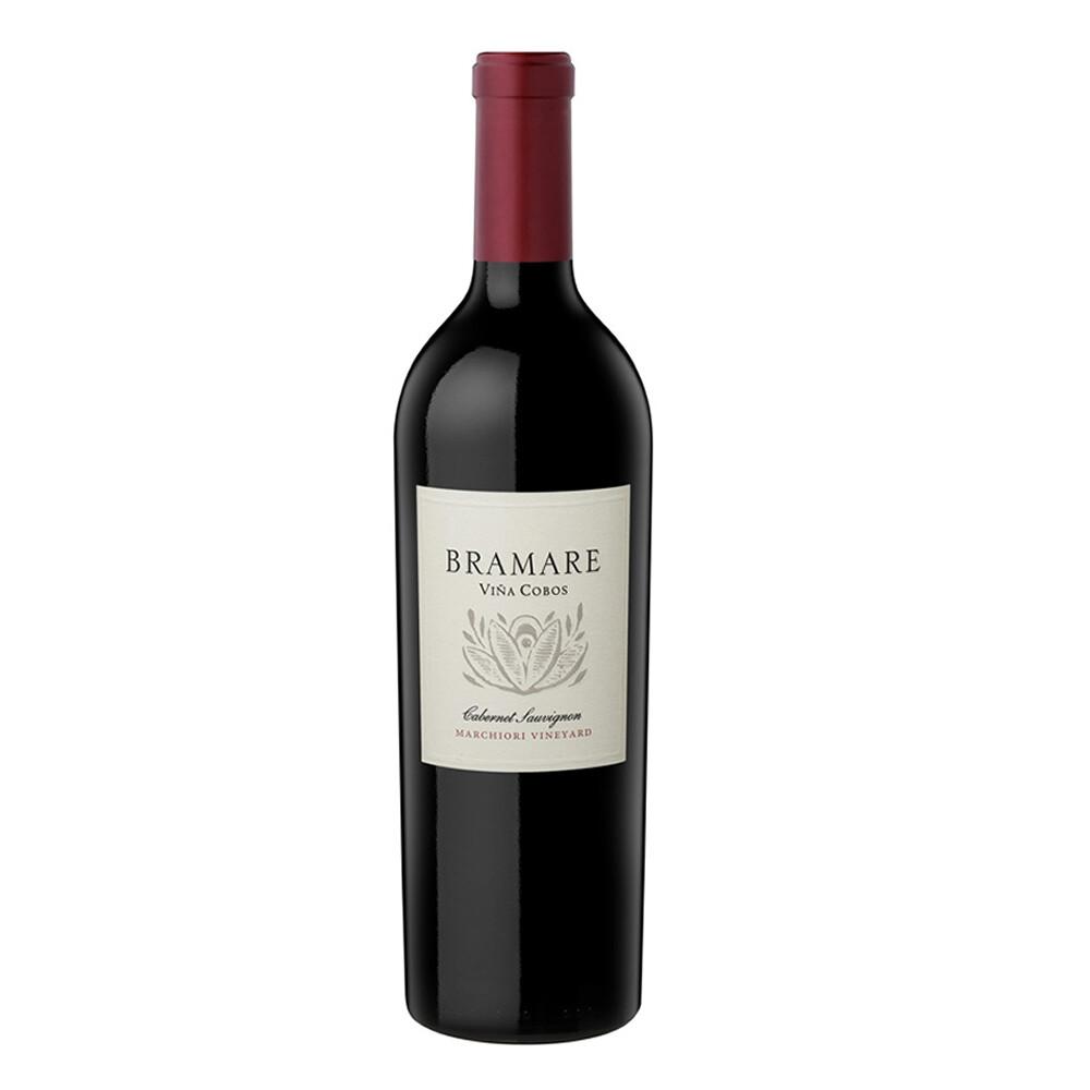 Vino Tinto Bramare vineyard marchiori cabernet sauvignon x750cc
