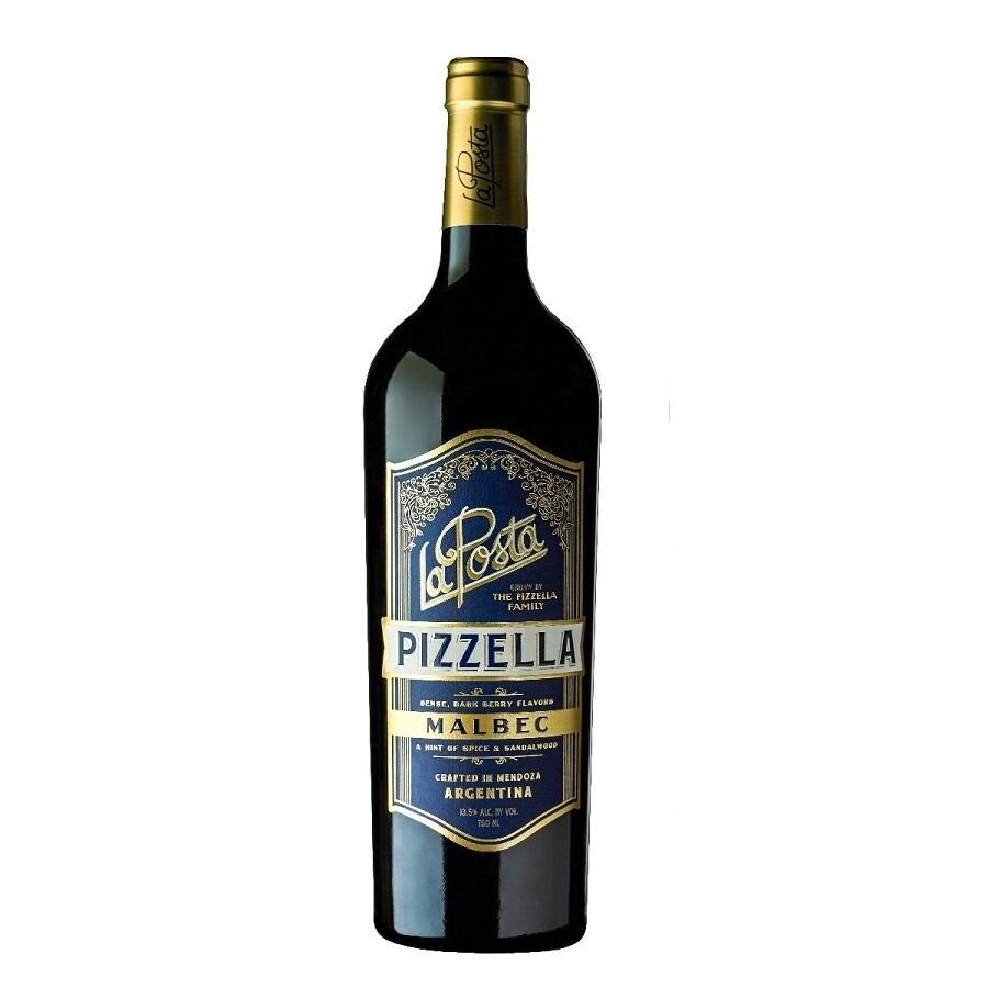 Vino Tinto La posta vineyard malbec-pizzella x750cc