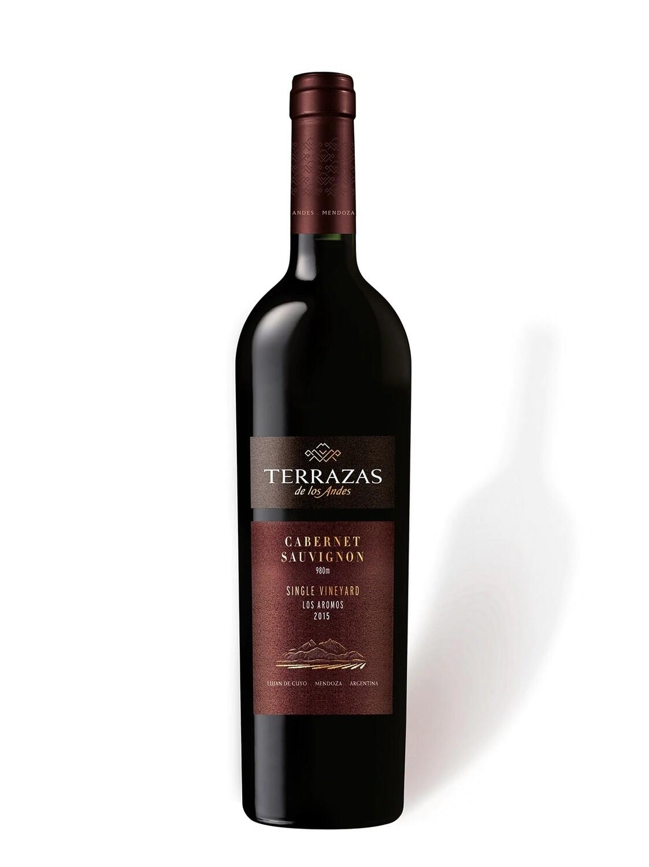 Vino Tinto Terrazas single vineyeard cabernet 15 x750cc