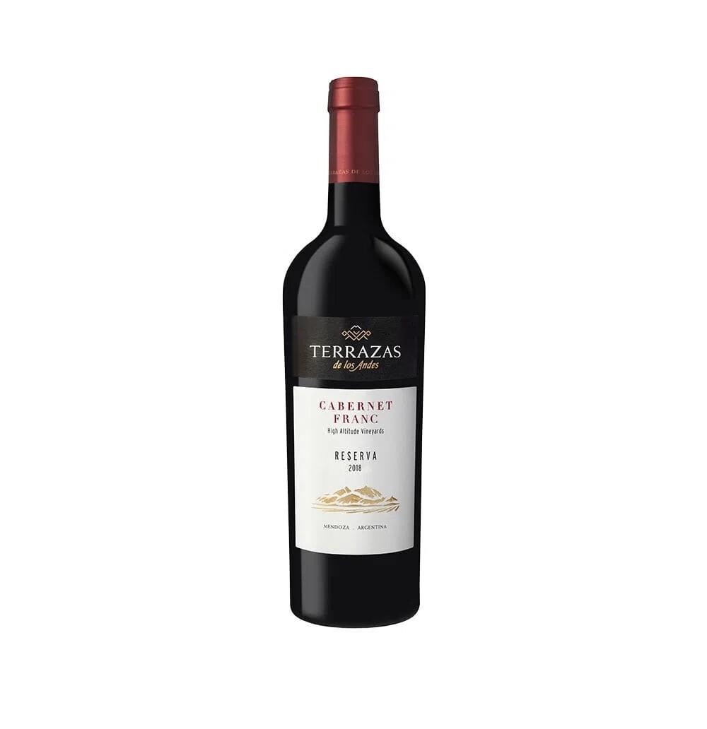 Vino Tinto Terrazas reserva cabernet franc x750cc