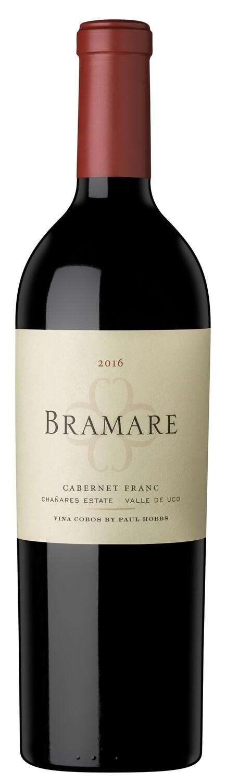 Vino Tinto Bramare chanares cabernet franc x750cc