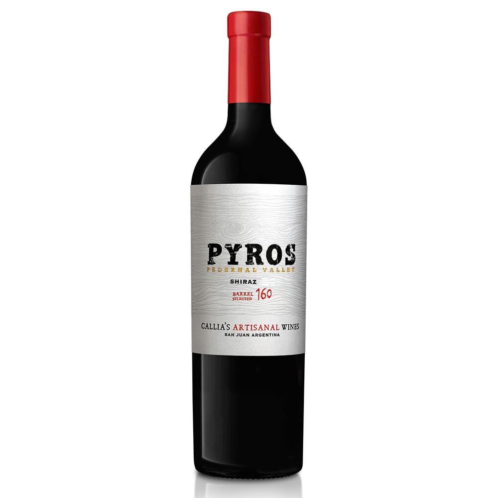 Vino Tinto Pyros appellation syrah x750cc
