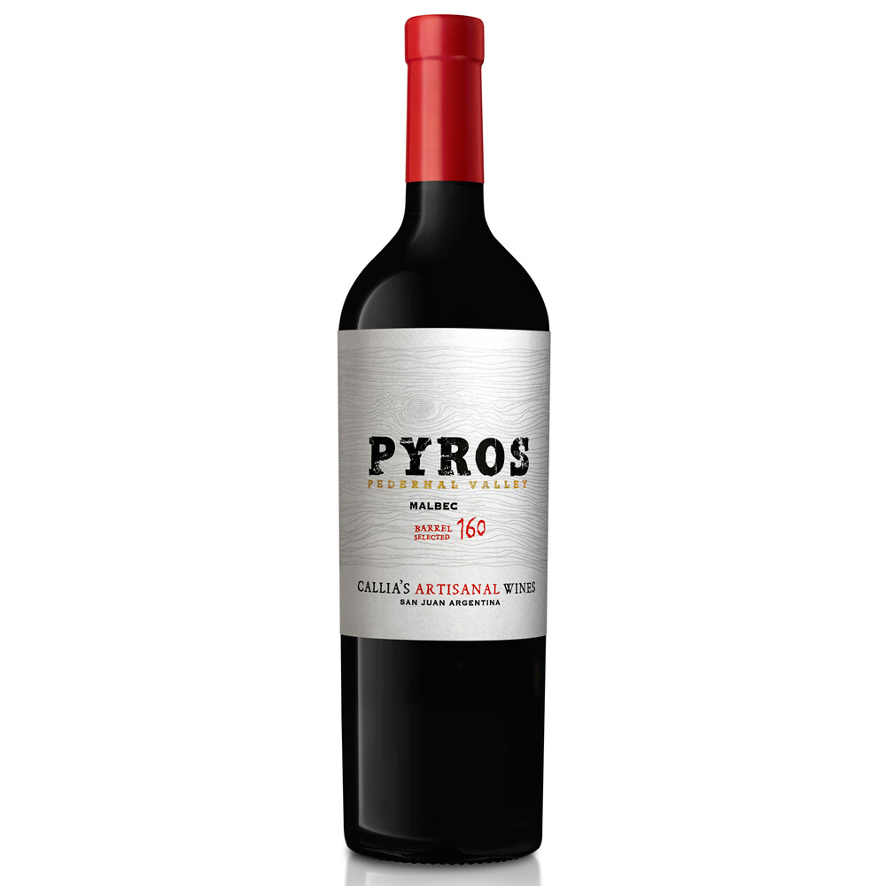 Vino Tinto Pyros appellation malbec x750cc