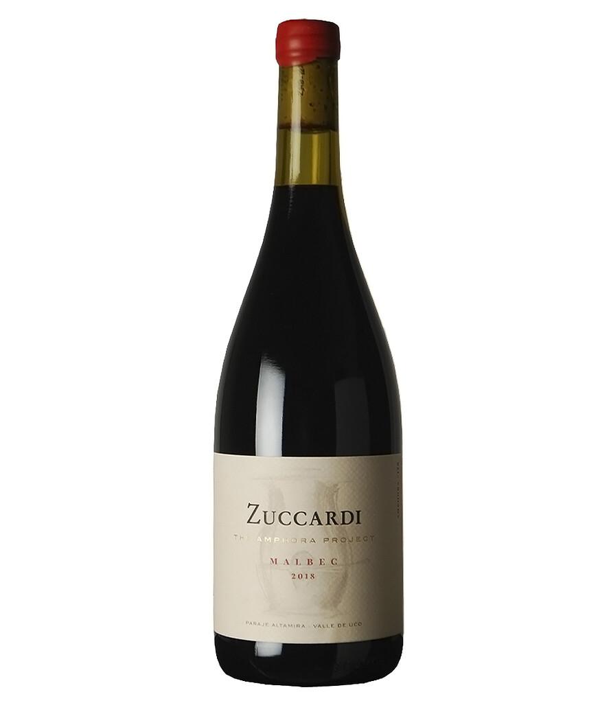 Vino Tinto Zuccardi amphora malbec 2018 x750cc