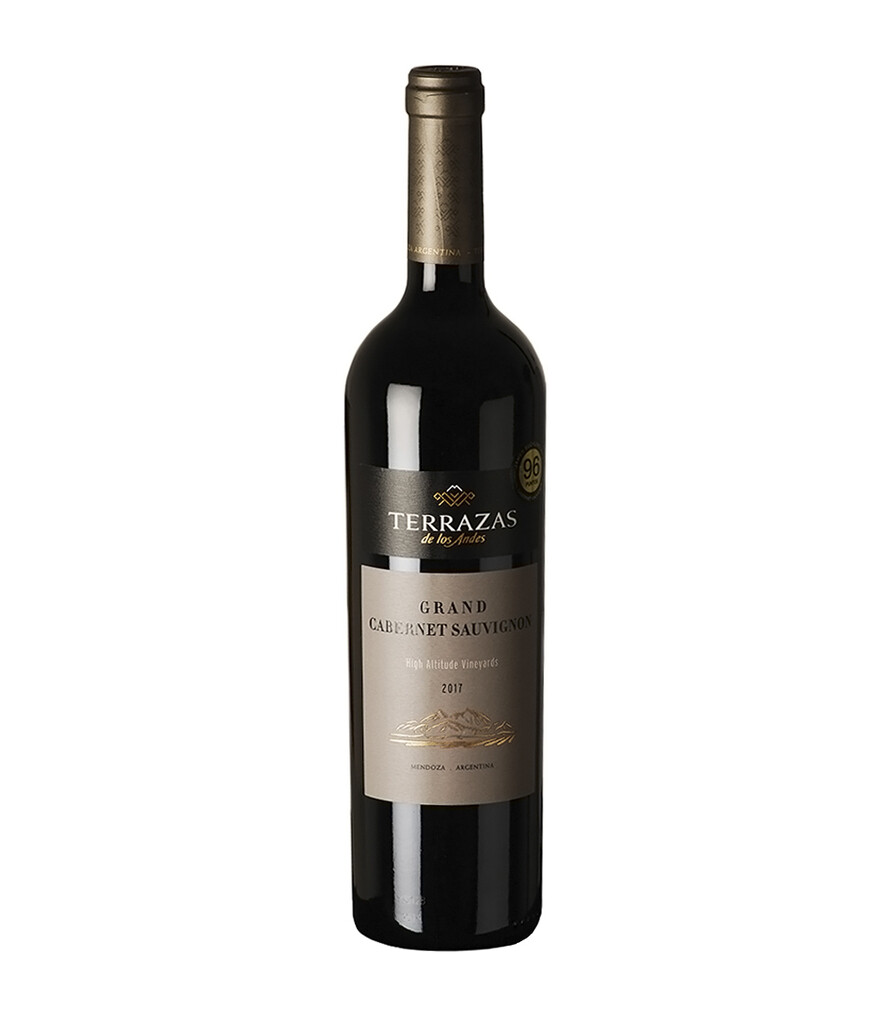 Vino Tinto Terrazas grand cabernet sauvignon 2017 x750cc