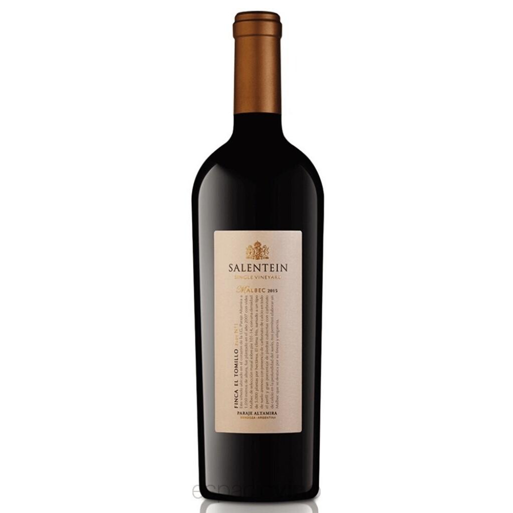 Vino Tinto Salentein single gualtallary  malbec x750cc