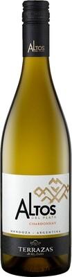 Vino Blanco Terrazas altos del plata chardonnay x750cc