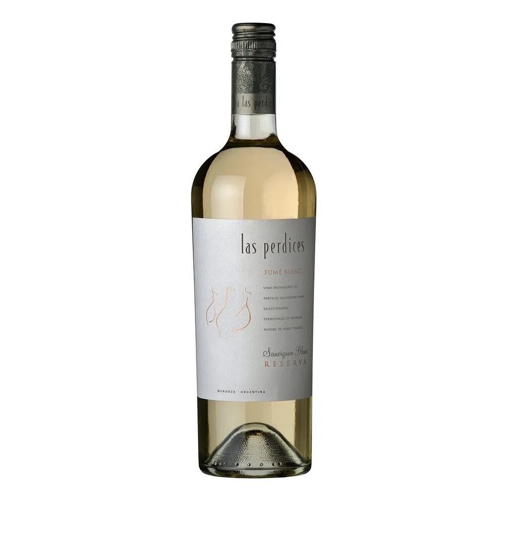 Vino Blanco Las perdices reserva sauvignon blanc x750cc