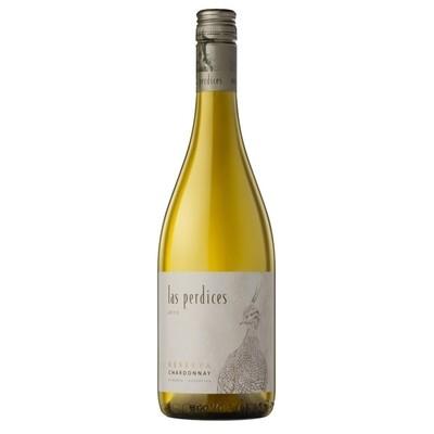 Vino Blanco Las perdices reserva chardonnay x750cc