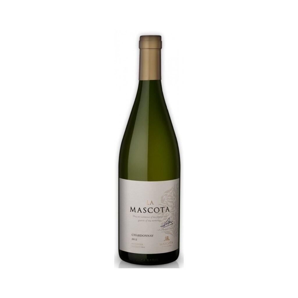 Vino Blanco La mascota chardonnay x750cc