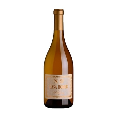Vino Blanco Casa boher gran reserva chardonnay x750cc