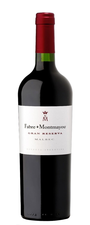 Vino Tinto Fabre montmayou gran reserva malbec x750cc