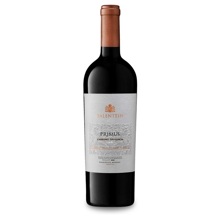Vino Tinto Salentein primus cabernet sauvignon x750cc