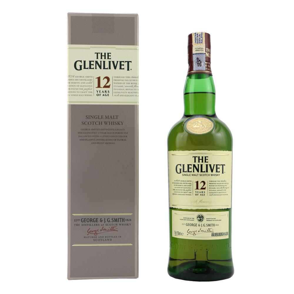 Whisky The glenlivet 12 a x700cc