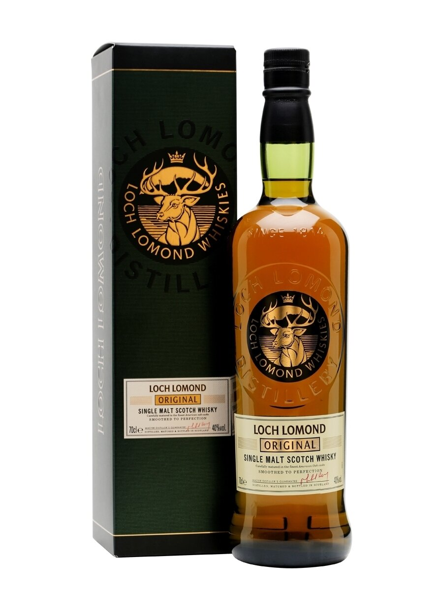 Whisky Loch lomond single malt x750cc